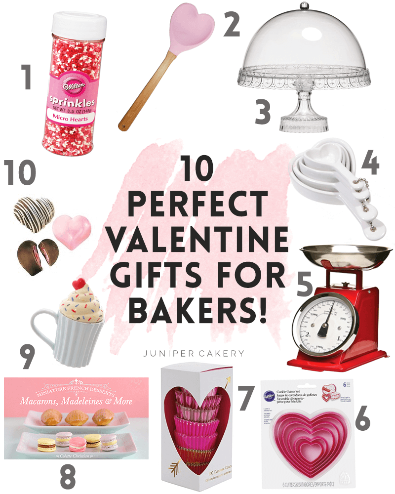 10 Valentine Gifts for Bakers