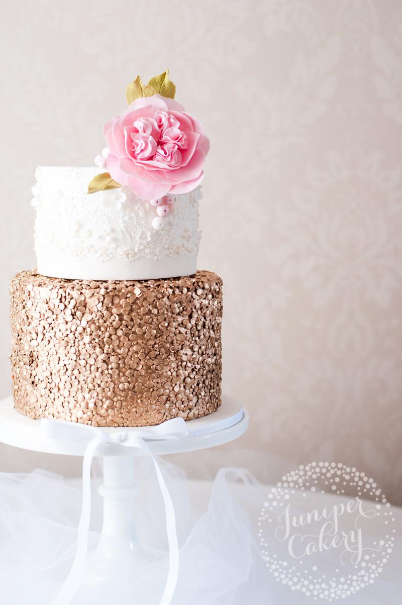 gold-sequin-marchesa-lace-wedding-cake-juniper-cakery-6