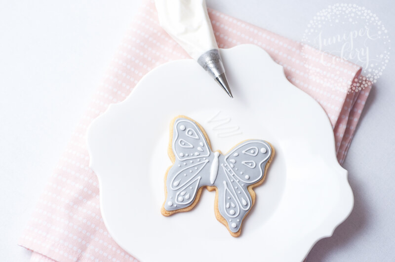 Butterfly sugar cookies by Juniper Cakery