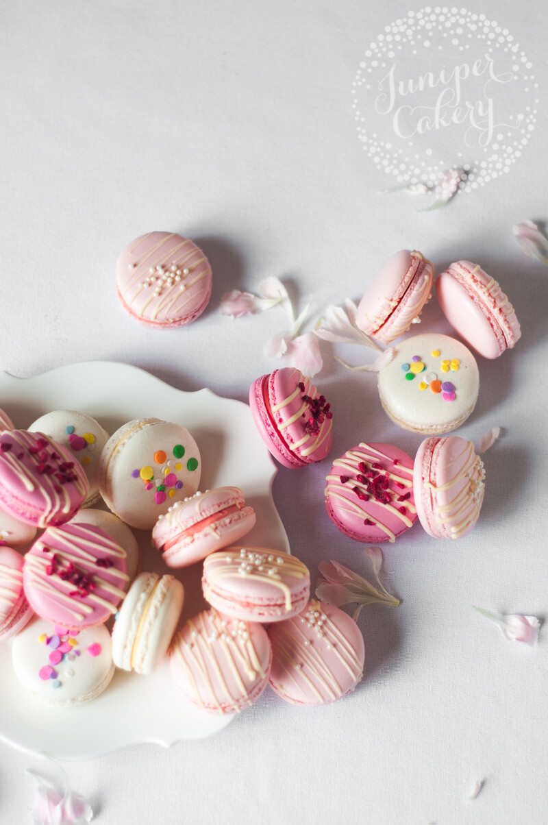 Tips for perfect macarons by Juniper Cakery