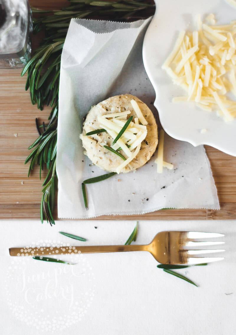 Rosemary scones recipe by Juniper Cakery