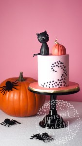 Ebay x Juniper Cakery: Cute & Colourful Halloween Cake Tutorial!