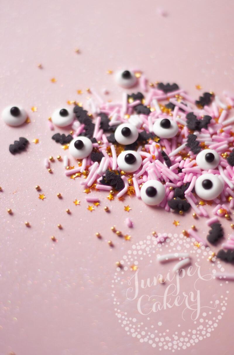 DIY candy eyes tutorial for Halloween fun