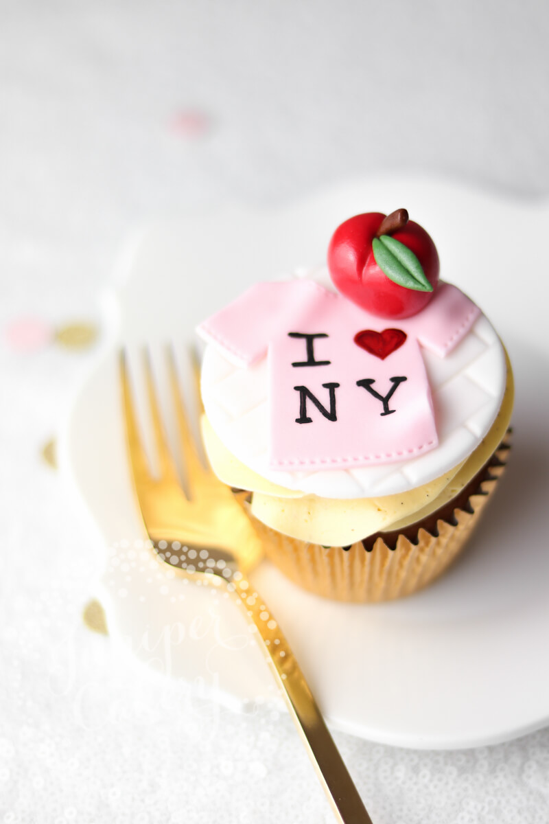 I love NYC cupcake by Juniper Cakery