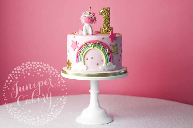 Surprising Magically Adorable Pretty In Pink Unicorn Birthday Cake Birthday Cards Printable Riciscafe Filternl