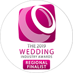 The Wedding Industry Awards 2019 Regional Finalist