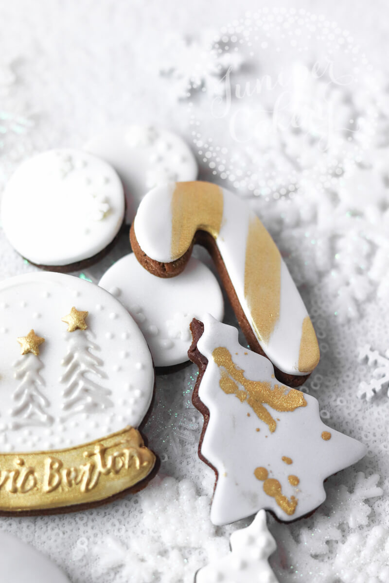 Holiday season cookies for Olivia Burton by Juniper Cakery