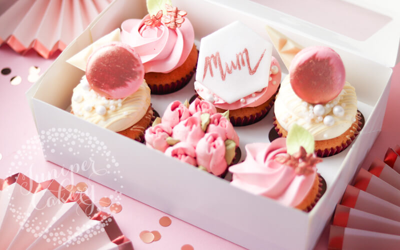 Mother's Day cupcakes by Juniper Cakery