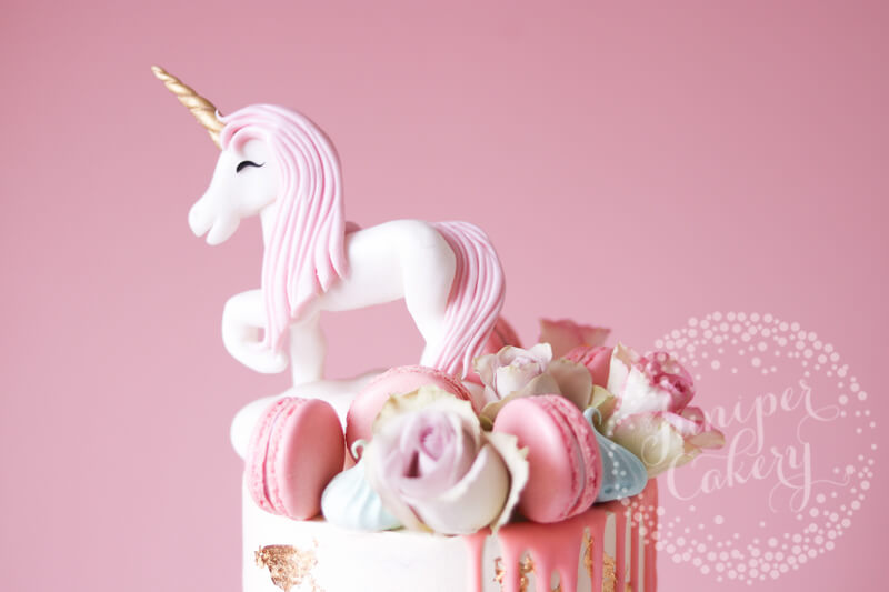 Pretty Unicorn Cake by Juniper Cakery