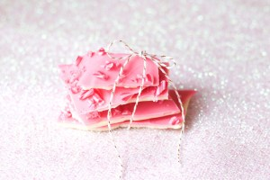 Festively Chic Chocolate & Candy Cane Bark Recipe!