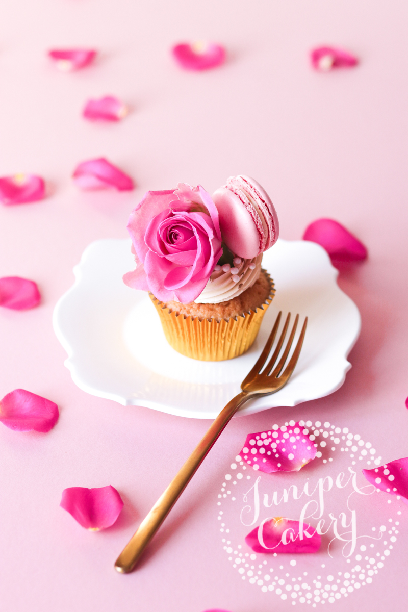 Pink Mother's Day Cupcakes by Juniper Cakery