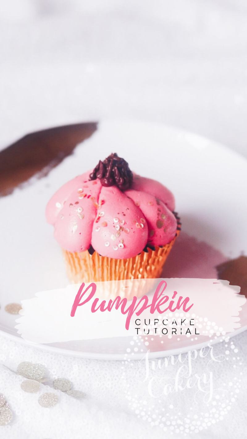 Buttercream pumpkin cupcake tutorial by Juniper Cakery
