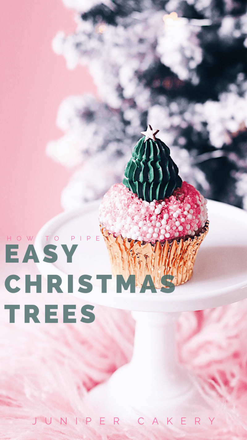 Christmas cake decorating ideas by Juniper Cakery