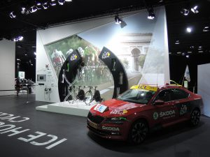 Messtand, Autosalon Paris