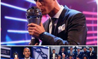 FOOT-THE BEST FIFA 2017: CRISTIANO ET ZIDANE COURONNÉS 33