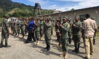 Haïti-Armée : Les militaires s'entraînent pour la commémoration de la Bataille de Vertières 40