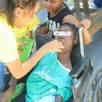 Haïti : l'association BLEUET se penche vers les enfants en déficience physique 33