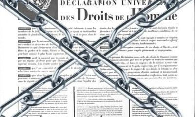 Ironiquement, l'ONU fête les 70 ans de la Déclaration Universelle des Droits de l'Homme 33