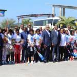 Jovenel Moïse accueille chaleureusement les Grenadières 30