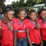 La Première Dame reçoit la sélection nationale féminine U20 36