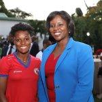 La Première Dame reçoit la sélection nationale féminine U20 41