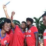 La Première Dame reçoit la sélection nationale féminine U20 31