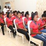 La Première Dame reçoit la sélection nationale féminine U20 38
