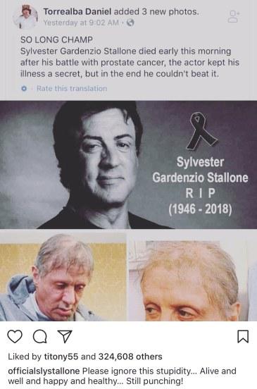 La vérité sur la mort de Sylvester Satallone 31
