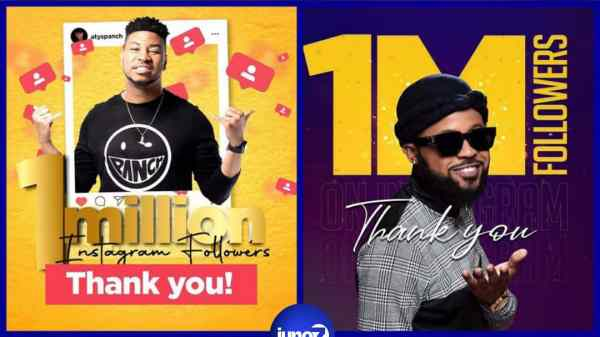 Instagram: Atys Panch et Roody Roodboy rejoignent le rang des Millionnaires