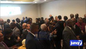 Le ministre des Affaires étrangères rencontre le corps diplomatique accrédité en Haïti ce mardi 10 mars 2020