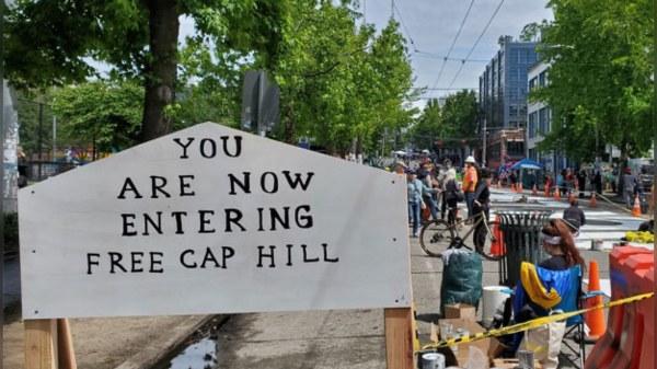 Black Lives Matter : Capitol Hill, un quartier de seatle s'autoproclame zone autonome