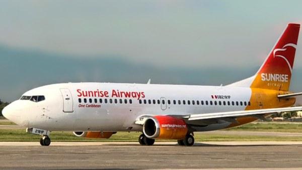 Sunrise Airways reprend ses vols entre Haïti et République Dominicaine ce 3 juillet