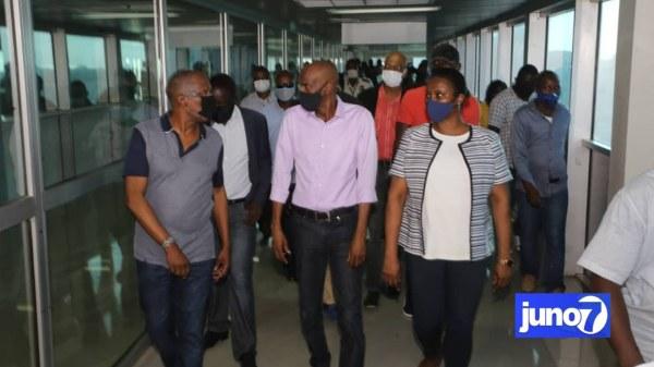 L'aéroport pourrait rouvrir le 30 juin prochain, a annoncé Jovenel Moïse