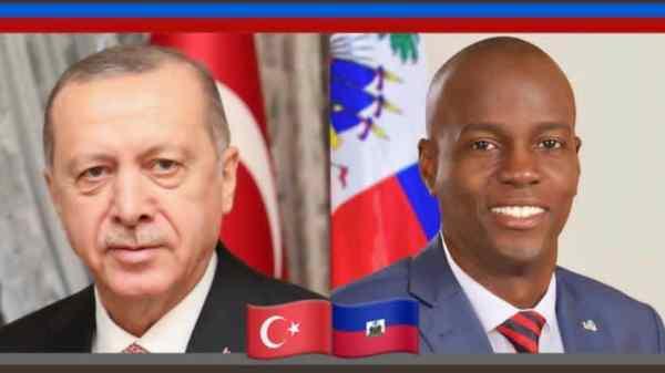 Entretien téléphonique entre les présidents Moïse et Erdogan sur la coopération entre Haïti et la Turquie