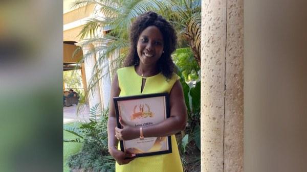 Joyeux anniversaire à la Journaliste Lunie Joseph