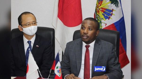 Signature d'un accord de don estimé à 3.800.000 de dollars américains entre Haïti et Japon