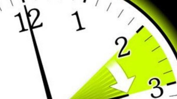 L'heure nationale sera avancée de 60 minutes à partir du 8 mars
