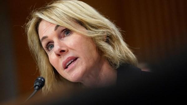 L'ambassadeur des USA à l'ONU, Kelly Craft