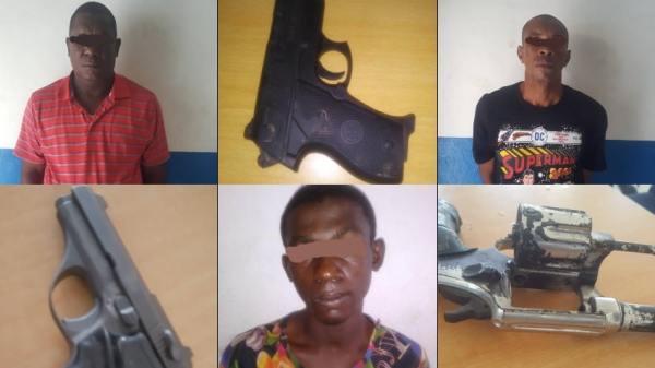 PNH: au moins 9 présumés bandits arrêtés entre dimanche et mercredi dans plusieurs départements