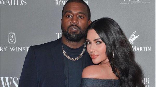 Kanye Wes et Kim Kardashian