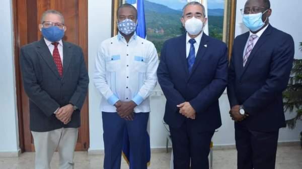 Haïti-République Dominicaine: Rencontre entre le consul général d'Haïti et le directeur régional du MCIM