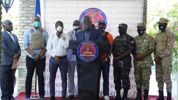 Le président du CSPN annonce 23 arrestations à Tabarre dont un juge de la Cour de Cassation