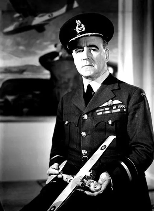 Air Vice-Marshal Robert Leckie in January 1944