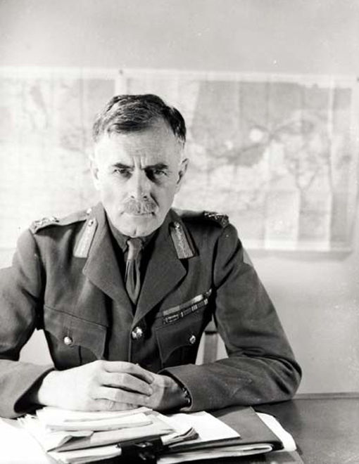 Lieutenant-General Andrew G. L. McNaughton, March 1942.