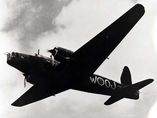 A RAF Vickers Wellington.