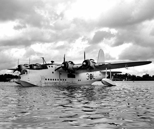 "Short Sunderland ""L"" of 423 Squadron."