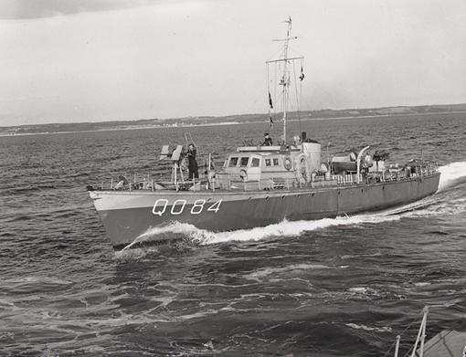Fairmile Q084, May 1943.