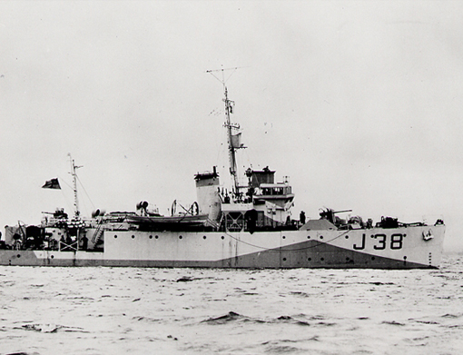 1938-1945 Minesweepers of the Royal Canadian Navy