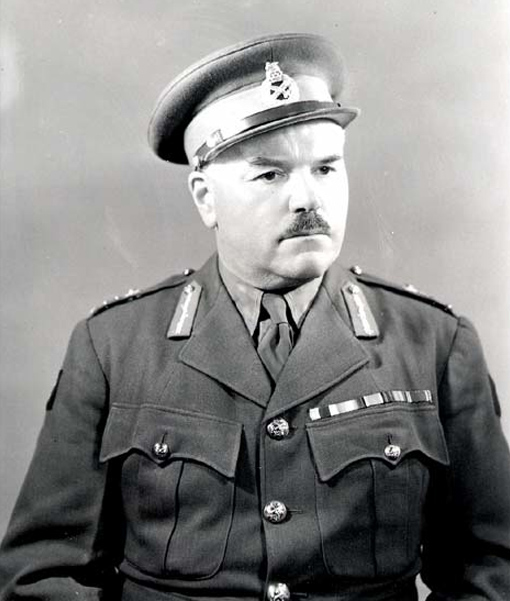 Major-General J.H. Roberts, ca. 1942.