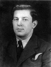 An archival photo of Andrew Mynarski